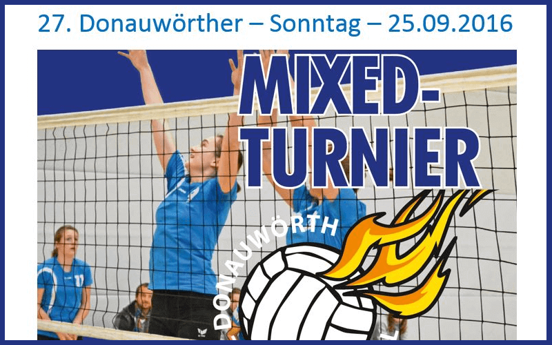 27. Donauwörther Mixed-Turnier
