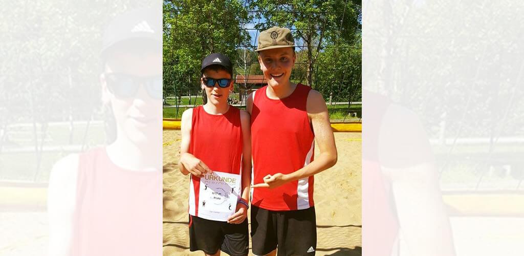 Unger-Beach-Team Schwäbischer Meister U17