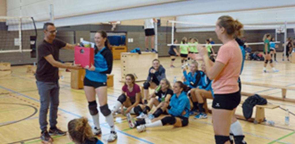 Donauwörther Volleyball-Damen werden für ihren Trainingsfleiß belohnt