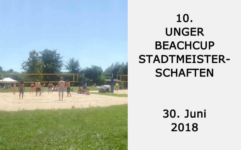 10. Unger Beachcup